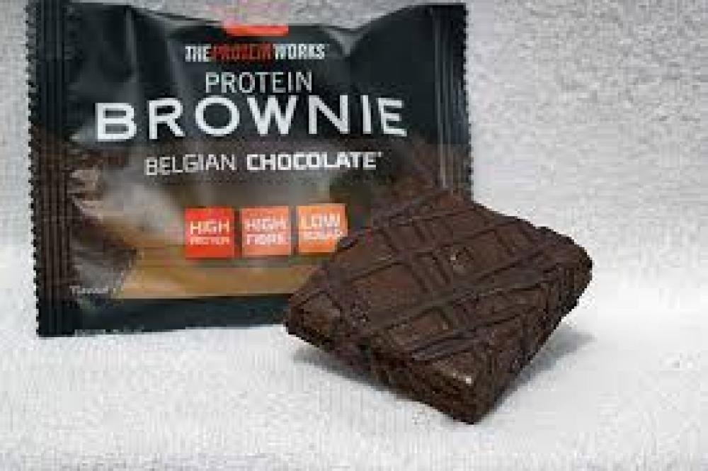 The Protein Works Protein Brownies Belgian Chocolate 40 g